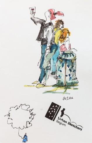 Bozar à Bruxelles lors des Journées du Patrimoine