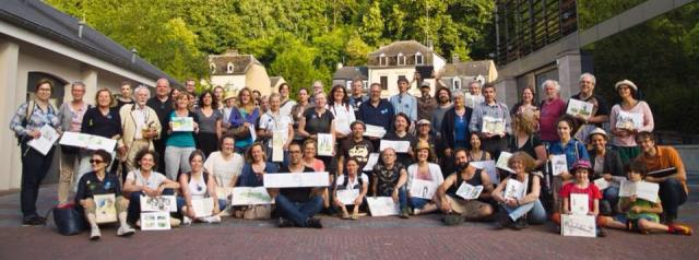 USK. Sketch weekend au Luxembourg