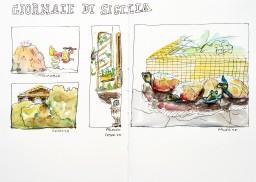 Sketch. Palerme Sicile