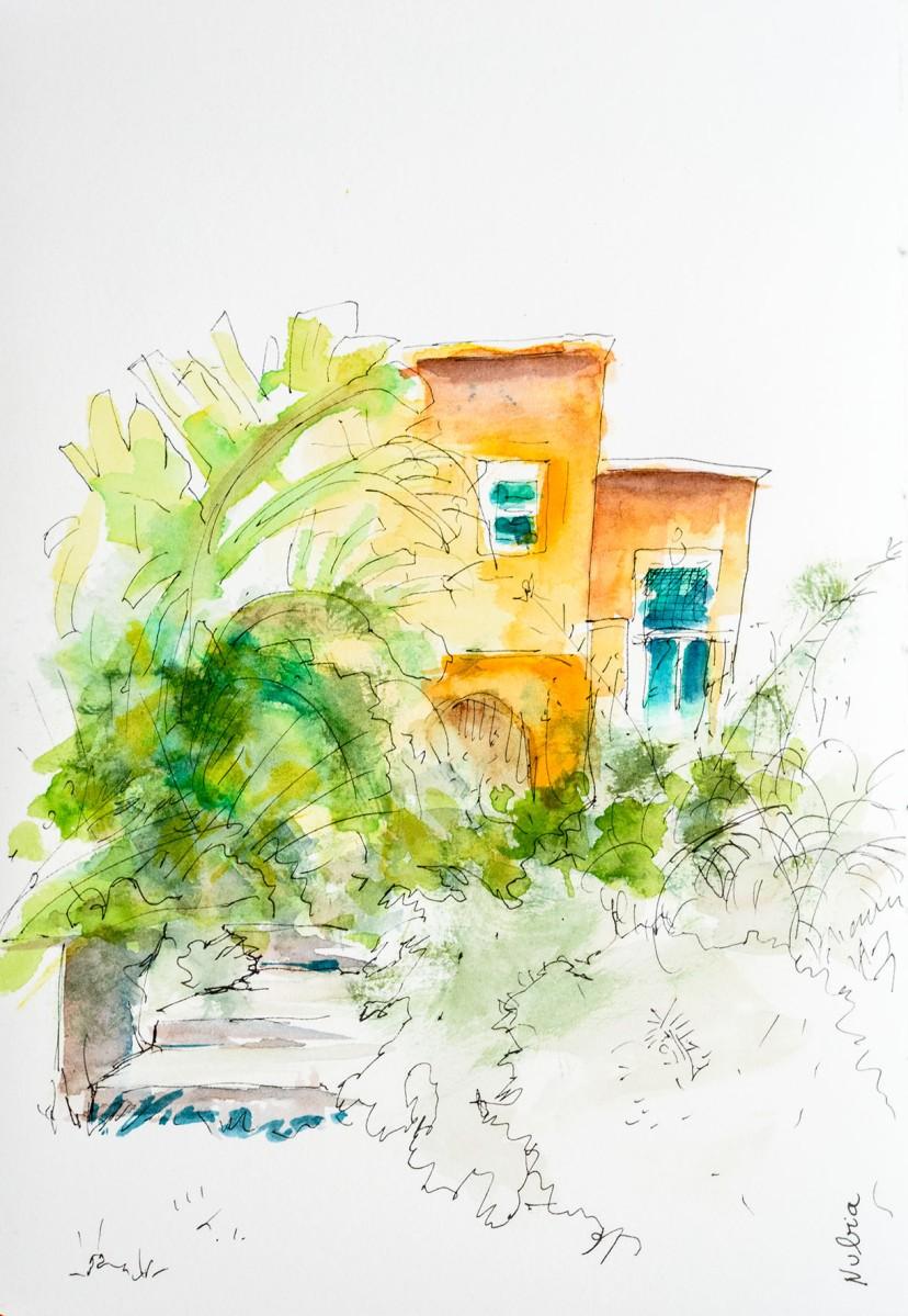 Sketch. Nubia. Sicile