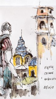 Piazza Cesare Augusto.