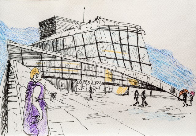 Opera d'Oslo, Norway