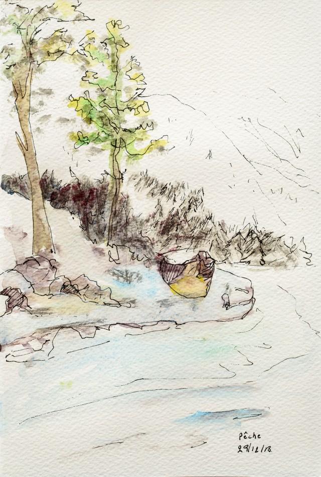 Paysage au parc national du Jotunheimen. Norvège