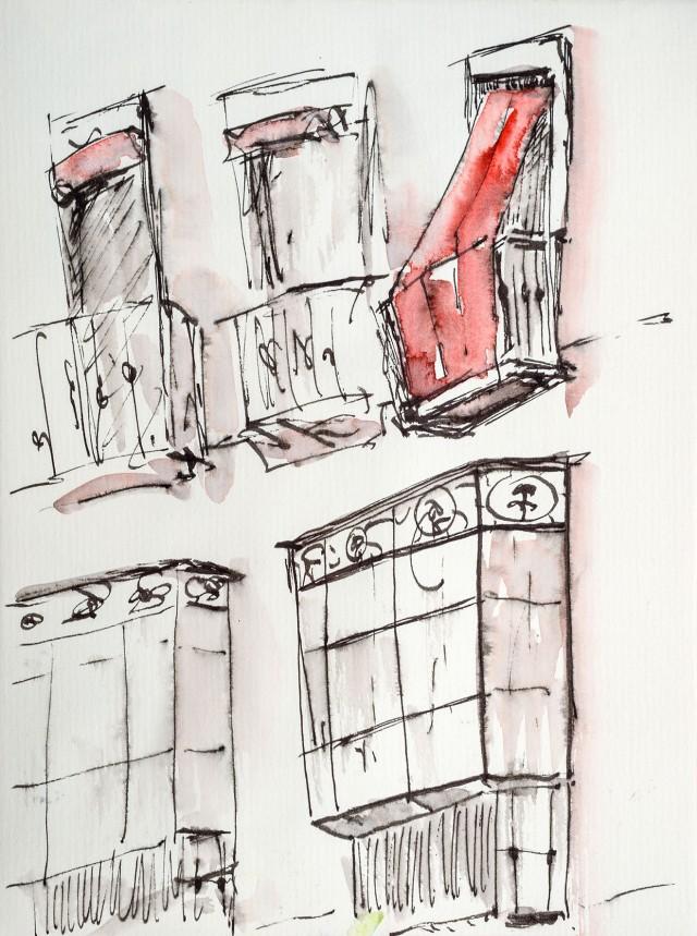 Séville, fenêtres