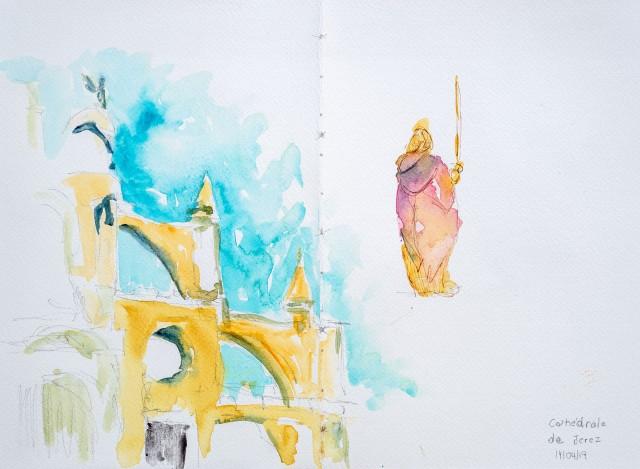 Jerez de la Frontera, la cathédrale