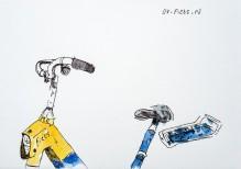 Des vélos. Des vélos à Amsterdam